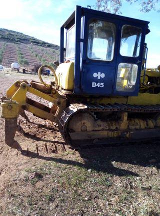 Bulldozer komatsu d45