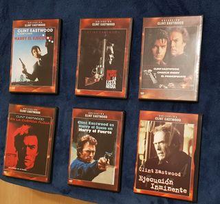 Colección películas DVD Clint Eastwood