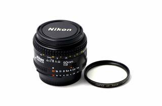 Objetivo Nikon AF Nikkor 50mm 1:1.8