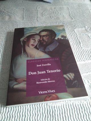 DON JUAN TENORIO. José Zorrilla.