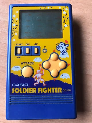 Casio Soldier Fighter CG-86