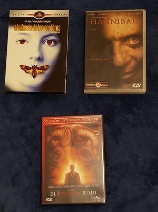 Colección películas DVD Hannibal