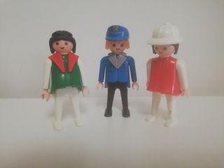 Cartero de Playmobil con amigas