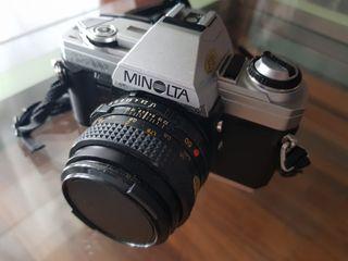 Cámara analógica Minolta Reflex