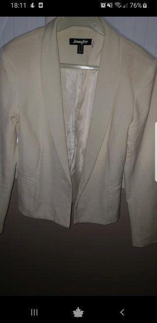 blazer blanc jennyfer M