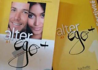 Libro francés A1Alter ego + cartilla actividadades