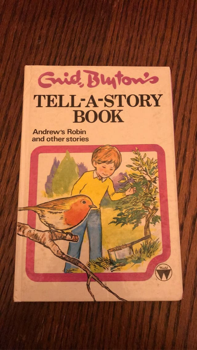 Tell a story book