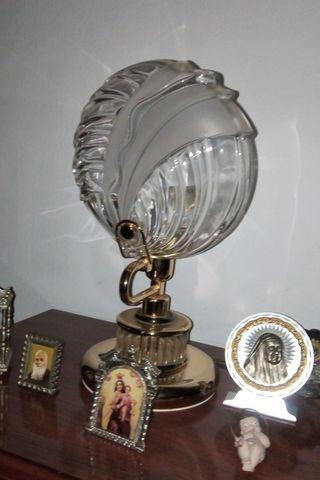 3 LAMPARAS DE DORMITORIO CRISTAL