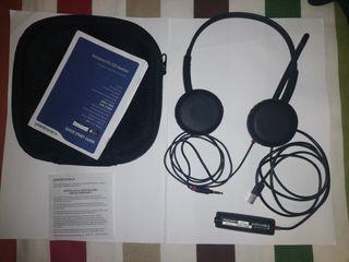 Auriculares Plantronics con micrófono