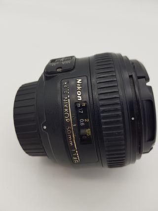 Nikon Nikkor AF-S 50mm f1.4 garantia