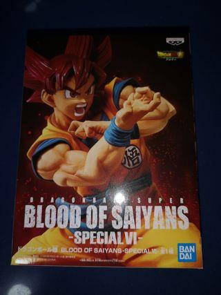 Blood of saiyans special banpresto dragón ball
