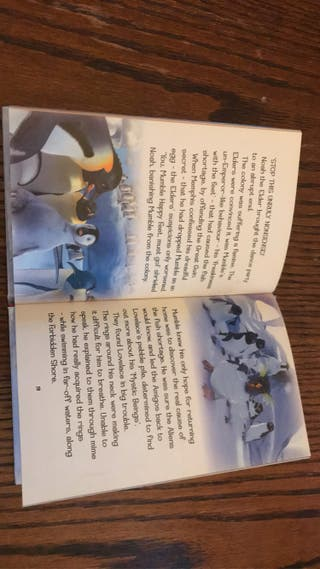 Happy feet ladybird book