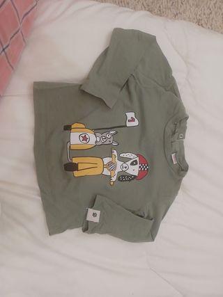 camiseta de manga larga Zara 80 cm