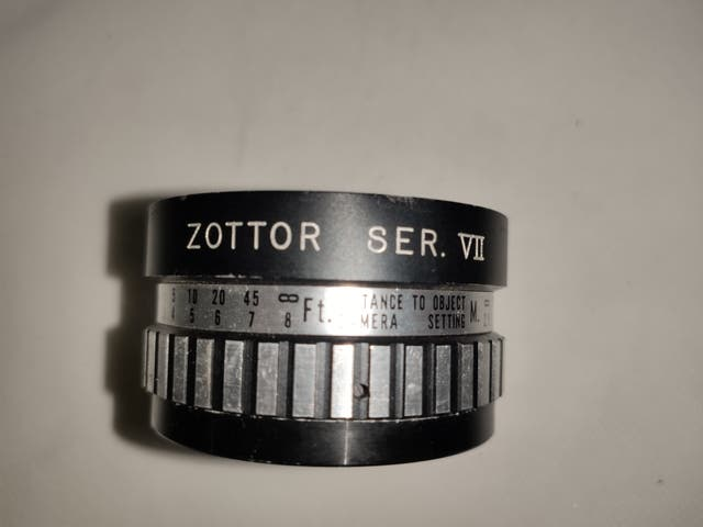 Objetivo Zottor SER VII AUX WIDEANGLE LENS