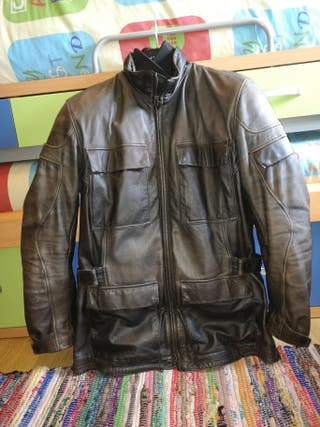 chaqueta moto Dainese en piel