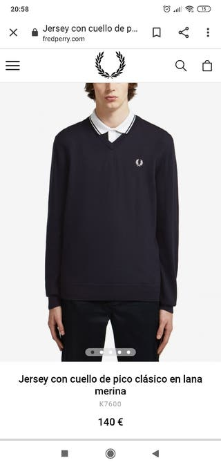 Jersey Fred Perry talla XL
