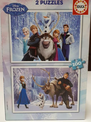 Puzzles Frozen
