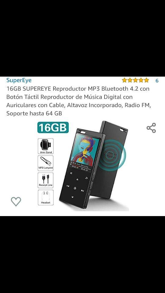 MP3 16 GB nuevo
