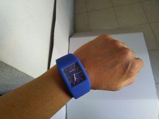 reloj silicona Silver