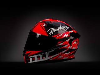 Casco MT KRE Snake Carbon Hawkers edition