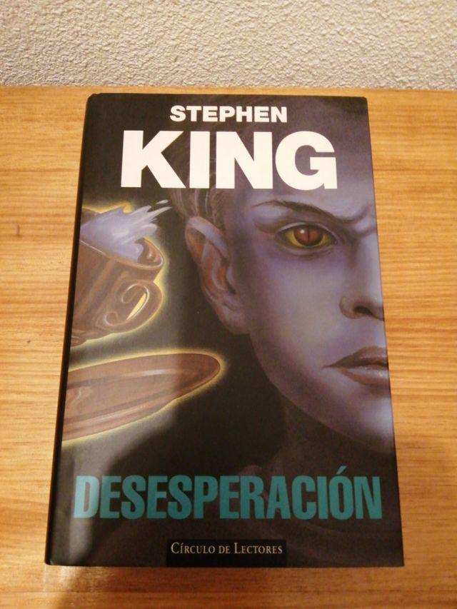 """LIBRO """"DESESPERACIÓN"""" (STEPHEN KING)"""