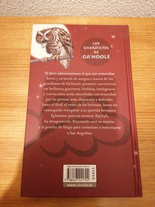 LIBROS SAGA LOS GUARDIANES DE GA'HOOLE