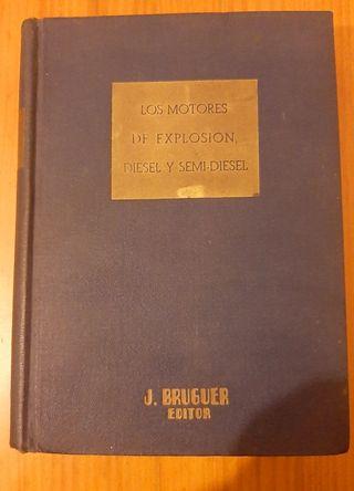libro antiguo motores diesel
