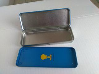 lote de 4 estuches y accesorios