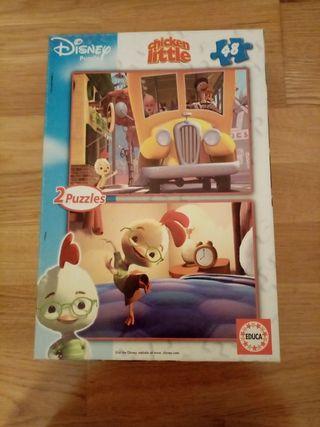 Puzzles de la película Chicken Little