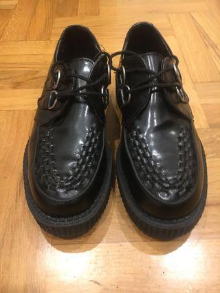 Zapatos Creepers de segunda mano en Gijón en WALLAPOP