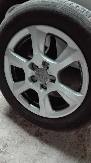 Llantas + neumáticos a4