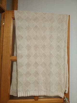 Vendo cortina ganchillo antigua ,hecha a mano,,
