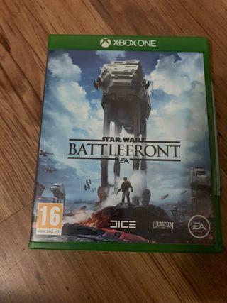 Battlefront Star Wars Xbox one