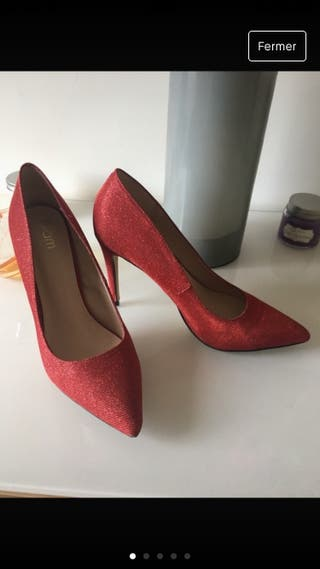 Chaussures rouge