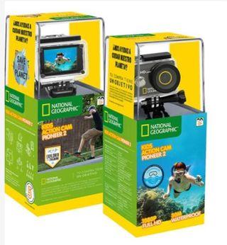 "Cámara deportiva ""tipo GoPro"" National Geographic"
