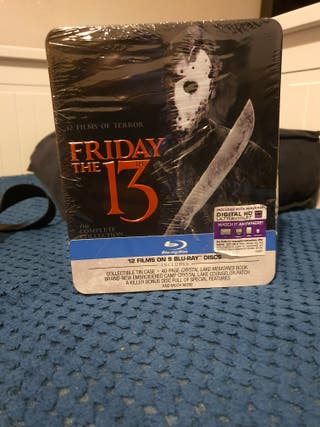 Friday the 13th Complete Collection Bluray