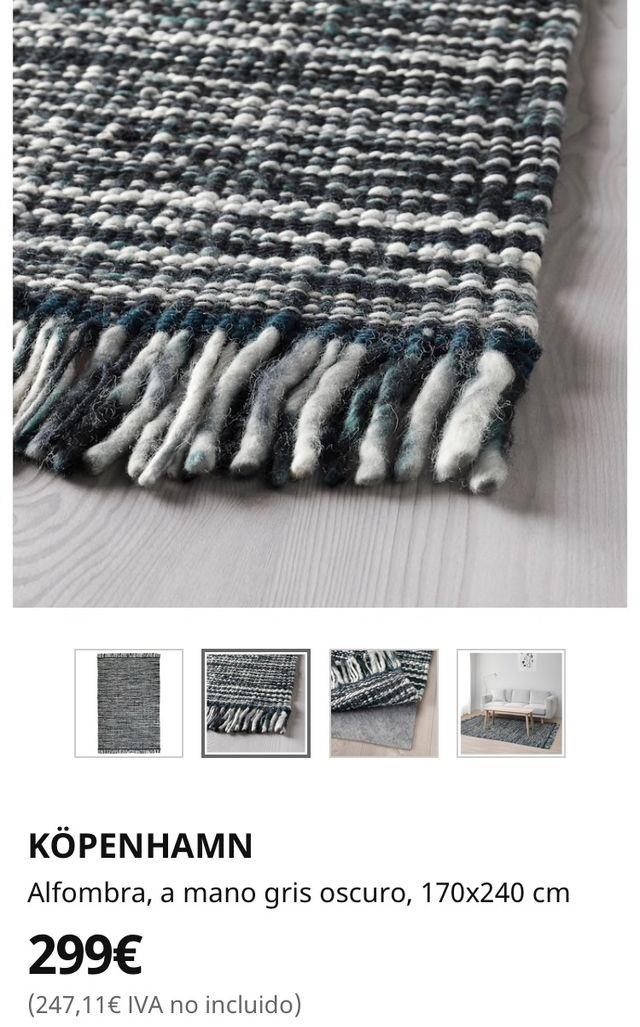 Alfombra de lana Ikea Cöpenhamn