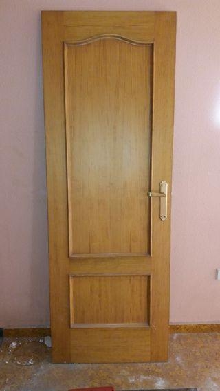 3 puertas de madera pino