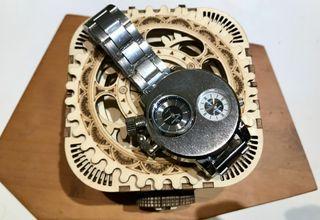 Reloj Con Doble Esfera Independiente
