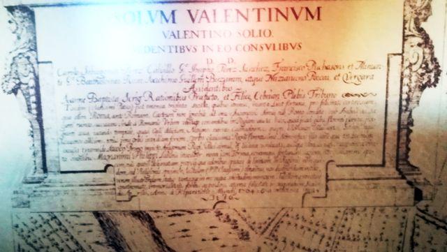 Cuadro con Grabado de - Antigua VALENTIA EDETANORU