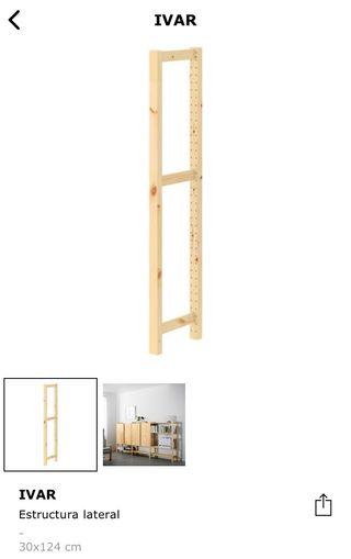 IVAR laterales 30x124 cm