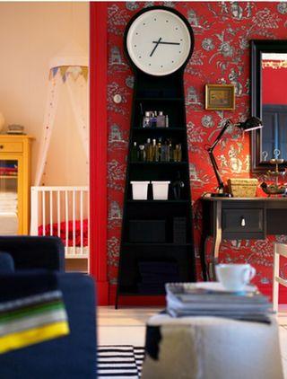 estantería reloj Ikea