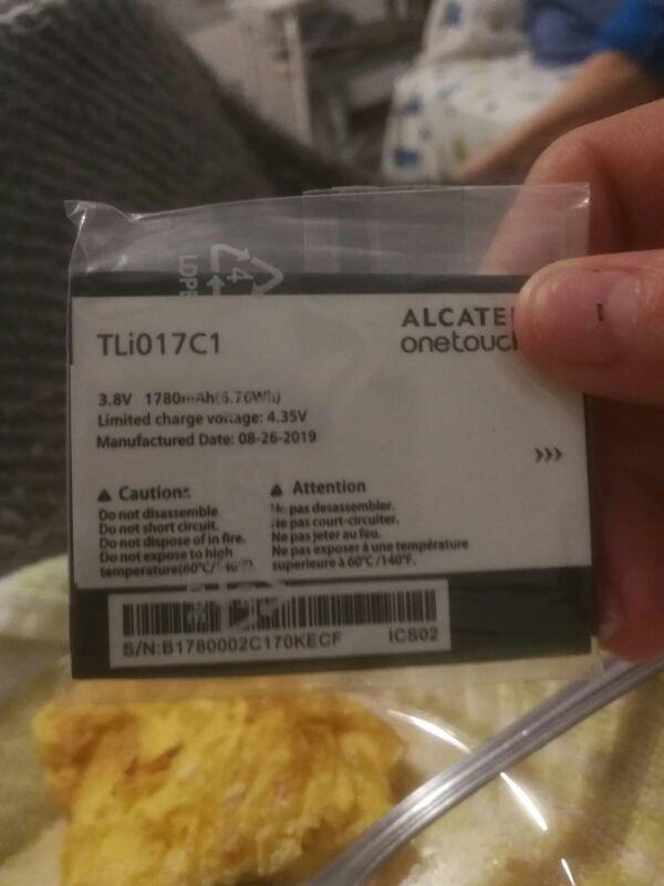 Bateria para Alcatel Pixi Nueva