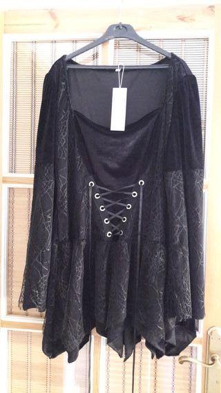 vestido bruja Halloween