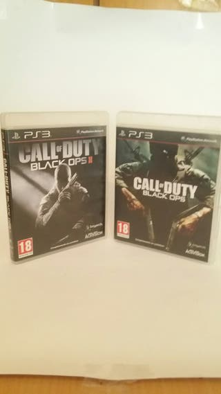 Ps3 Call of duty ops y Call of duty ops 2 juegos