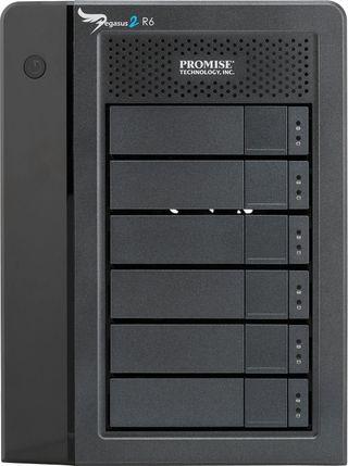Pegasus2 R6 disco duro 12TB RAID thunderbolt 2 Mac