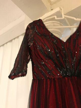 Vestido de gala / disfraz halloween