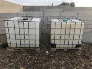 Deposito de agua de 1000 litros