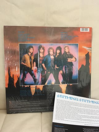 Fifth Angel LP 1986 +doble póster Heavy Metal