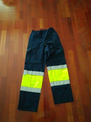 Ropa trabajo alta visibilidad emergencias